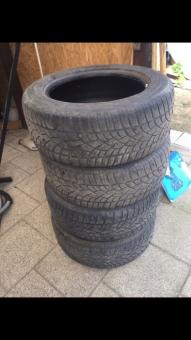 Dunlop sp winter sport 255/55/R18